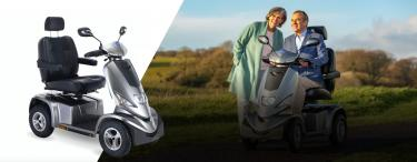 Invacare Cetus mobility scooter