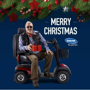 Christmas Invacare mobile